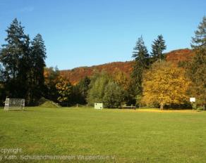 Fußballplatz Schullandheim Dalbenden