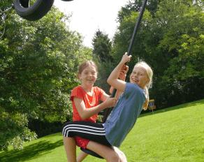 Kinder Schaukel Spaß