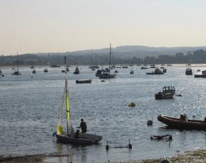 Hafen Exmouth Sprachreisen
