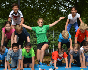 Trainerin Pyramide Kinder